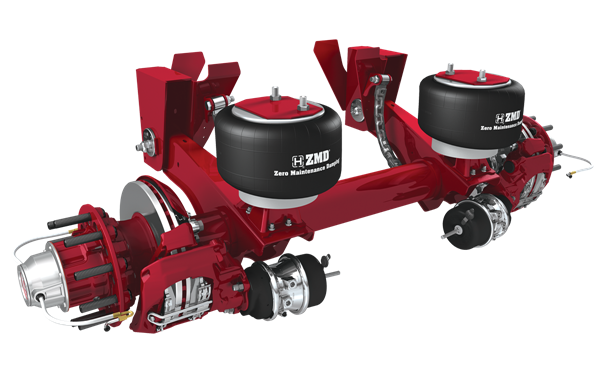 INTRAAX AANT  Top-Mount Air Suspension/Axle/Brake System